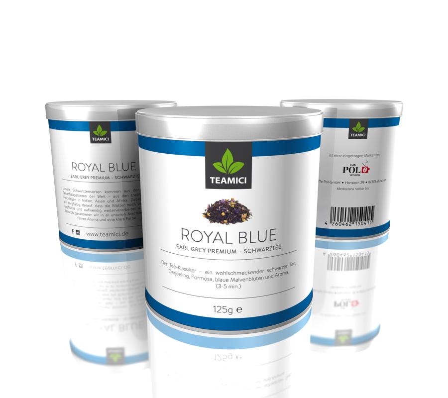 TEAMICI ROYAL BLUE - Earl grey premium – Schwarztee - Tee