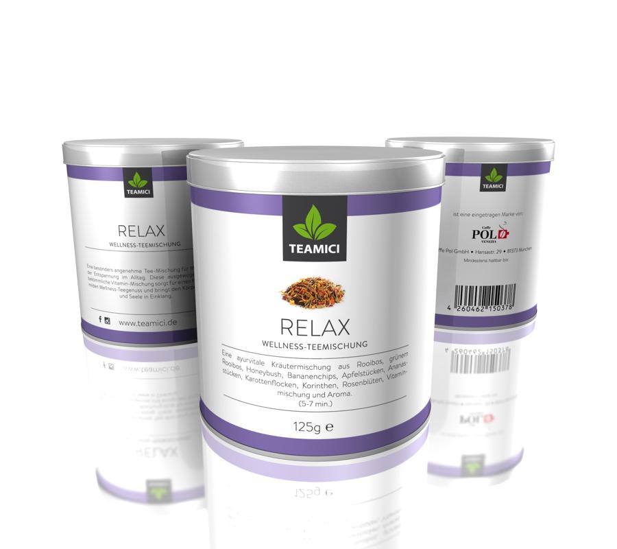 TEAMICI RELAX - Wellness-Teemischung - Tee