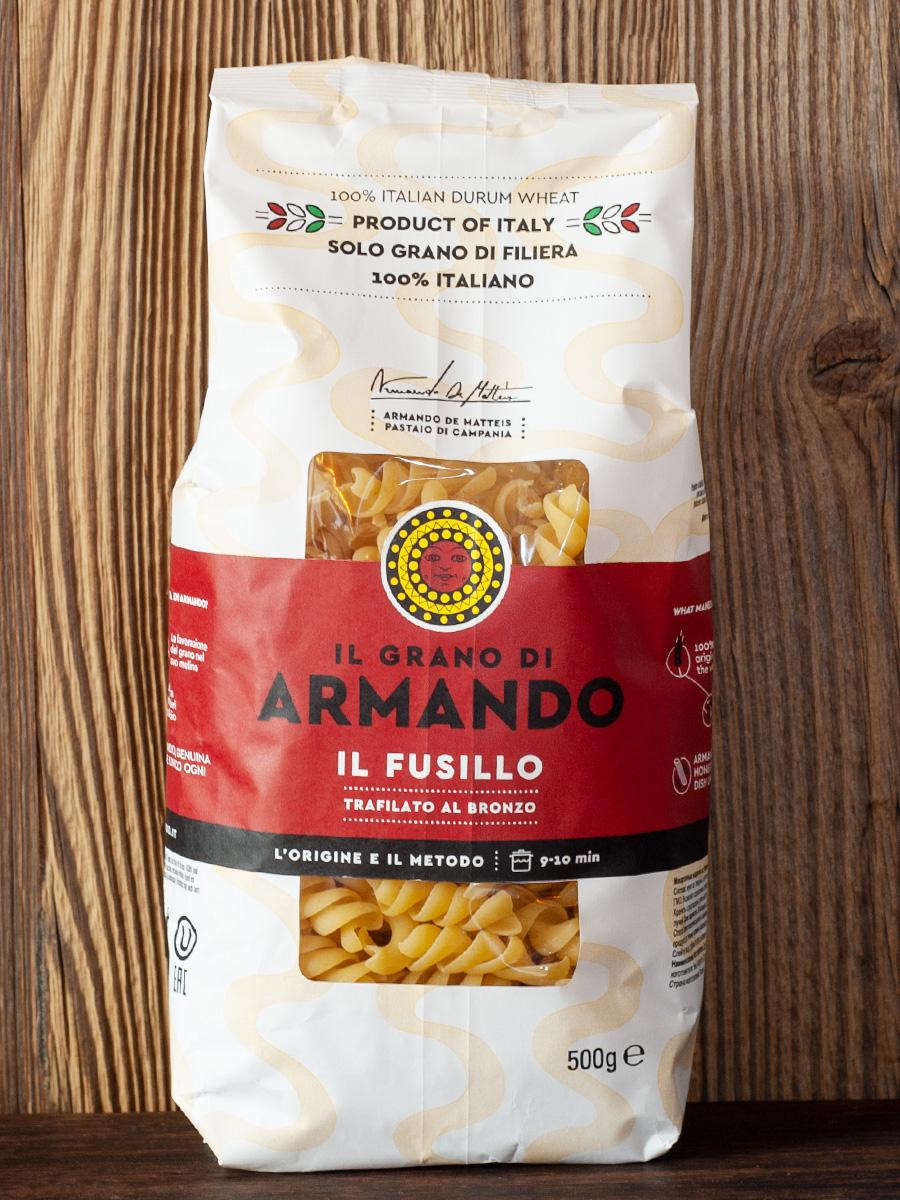 IL GRANO DI ARMANDO - Pasta Il Fusillo - 100% italiano - ohne Glyphosat