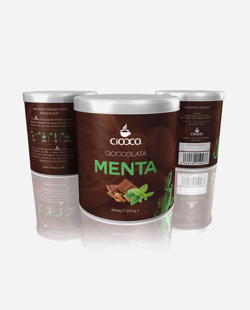 Ciocco Menta 250 g - Dose Trinkschokolade - Minze