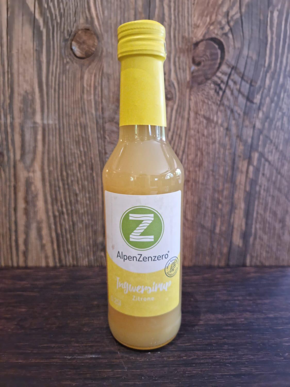 Alpen Zenzero - Ingwersirup - Zitrone