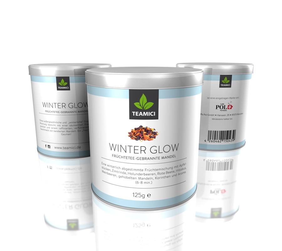 TEAMICI WINTER GLOW - Früchtetee - Gebrannte Mandeln - Tee