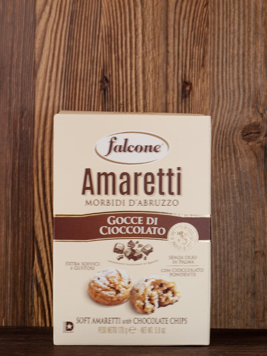 falcone - Amaretti - Cioccolato -  mürbes Gebäck mit Schokolade