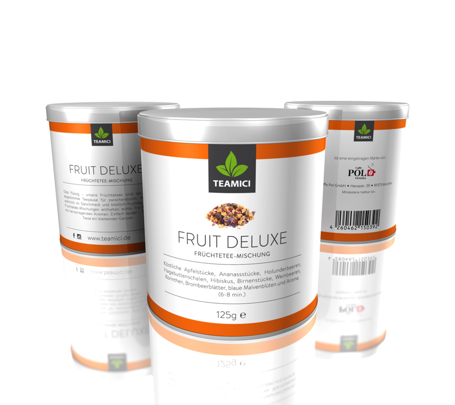 TEAMICI FRUIT DELUXE - Früchteteemischung - Tee