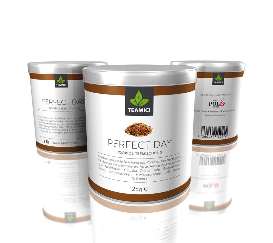 TEAMICI PERFECT DAY - Roiboos-Teemischung - Tee