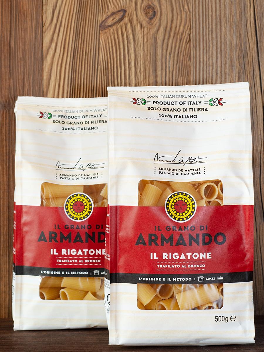 IL GRANO DI ARMANDO - Pasta Il Rigatone - 100% italiano - ohne Glyphosat